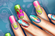 Dress up and nails games for girls