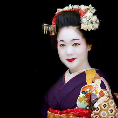 японские прически