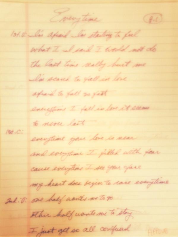 Everytime lyrics janet jackson
