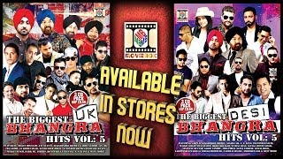 THE BIGGEST UK BHANGRA and DESI BHANGRA HITS VOL5