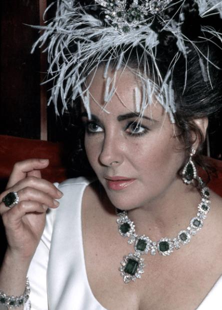 Elizabeth taylor emerald