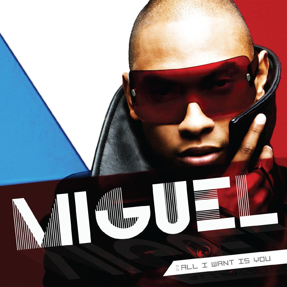 Miguel sure thing lyrics on screen