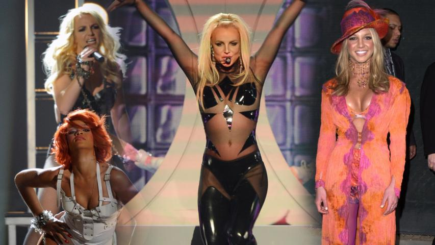 Britney spears see through blouse