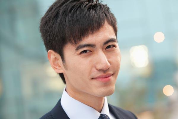 5. cool Short Haircut With Diagonal Cut Korean Hairstyle