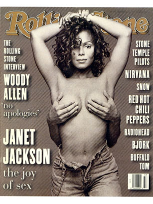 Janet jackson rolling stone cover poster 1993