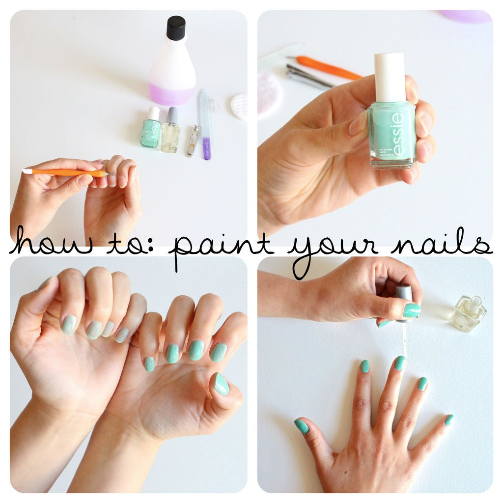 New ways to paint nails
