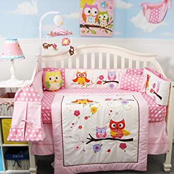 Baby pink cribs