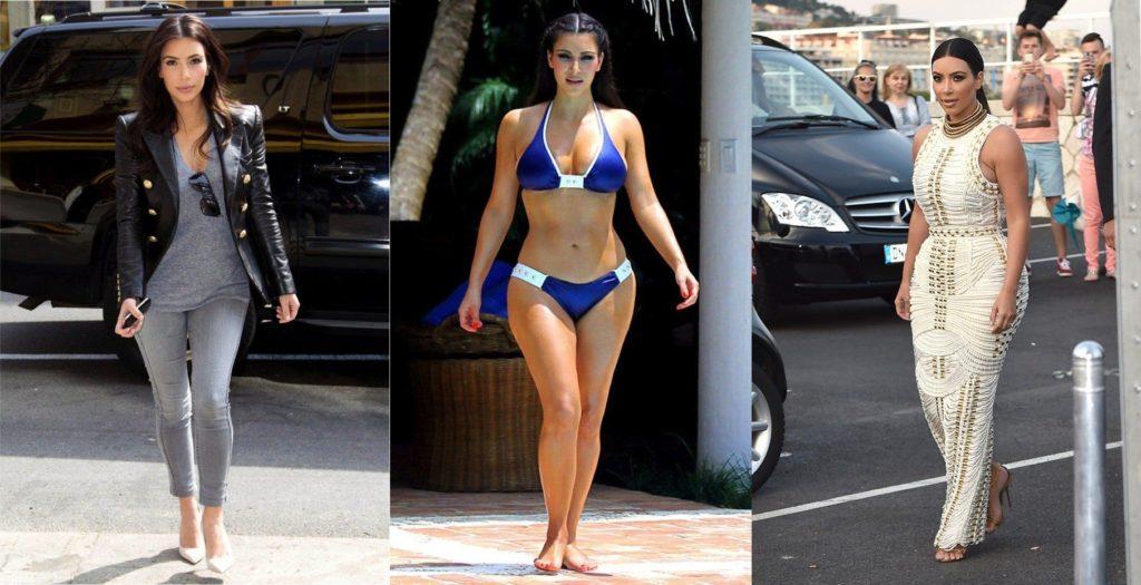 Kim kardashian getting fat