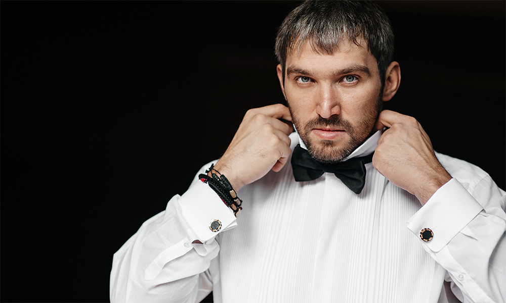 Александр Овечкин на свадьбе