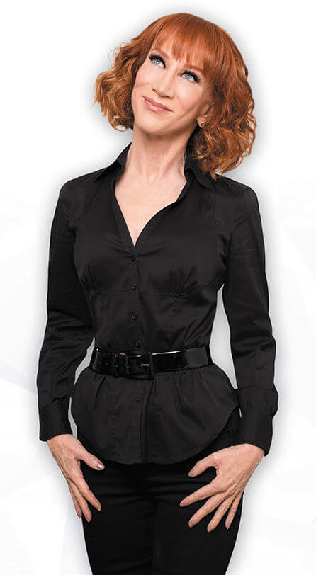 Kathy Griffin hot black dress