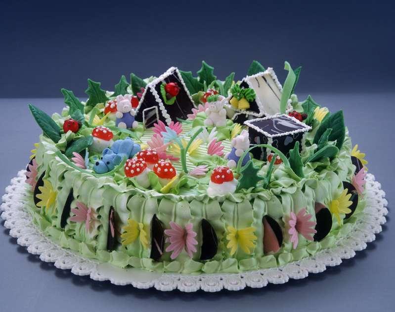 Красивый торт маме
