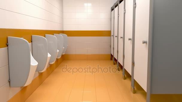Видео общественный мужской туалет