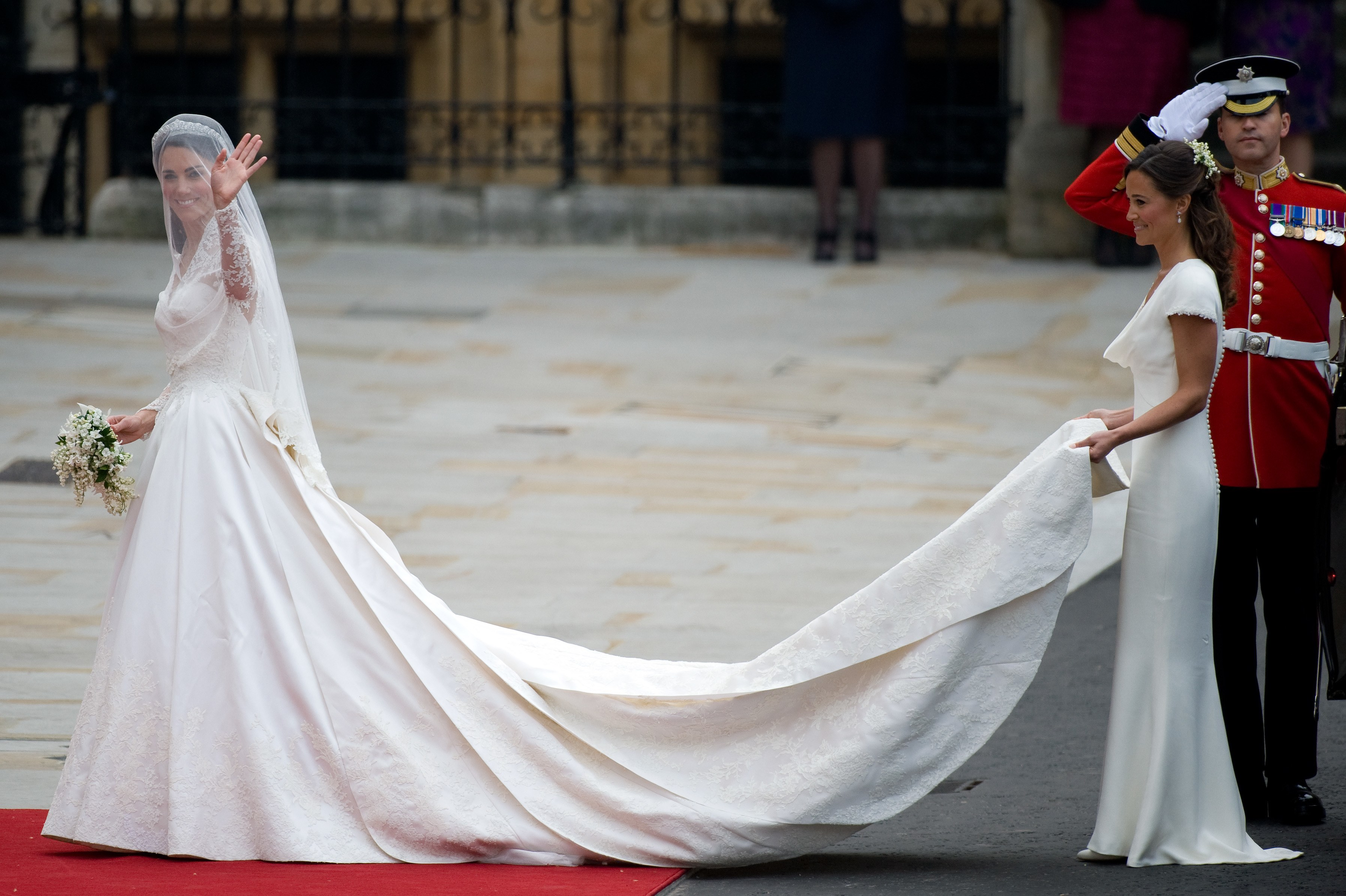 Celebrities wedding dresses 2012