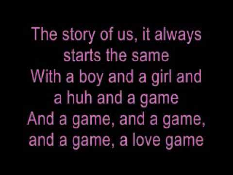 Lovegame lyrics lady gaga