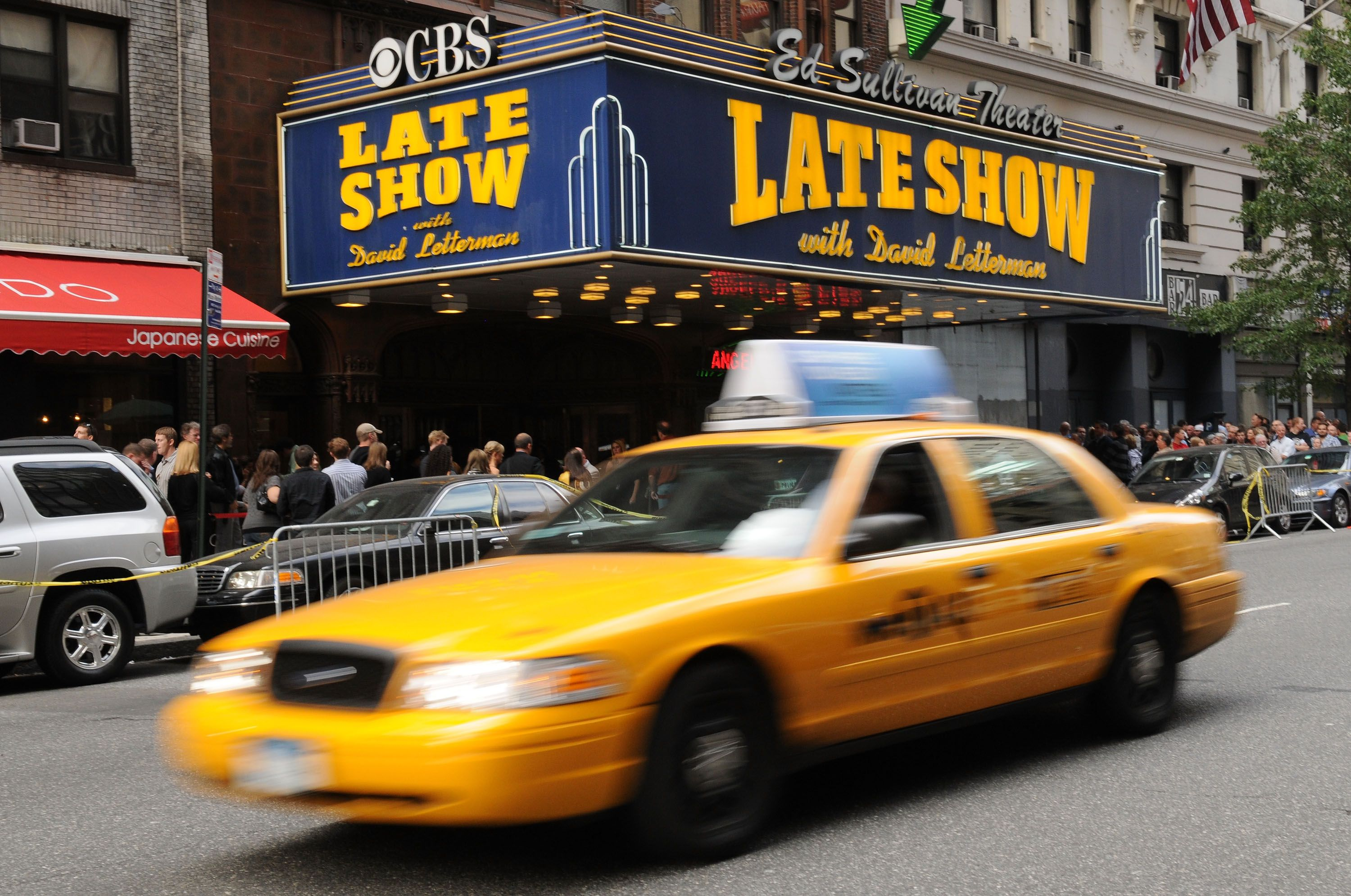 Tickets for david letterman show in new york