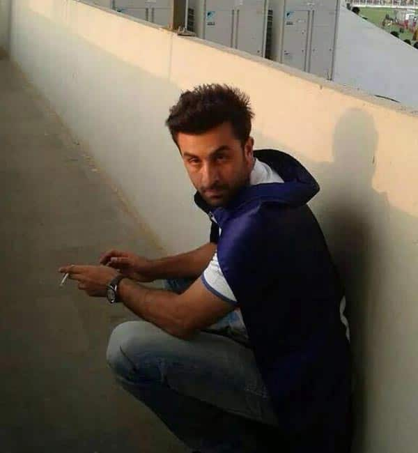 Image result for ranbir kapoor smoking