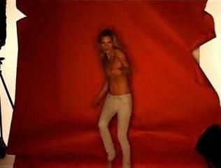 Kate moss topless