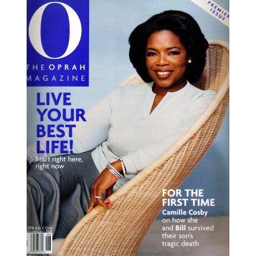 Oprah winfrey magazine history