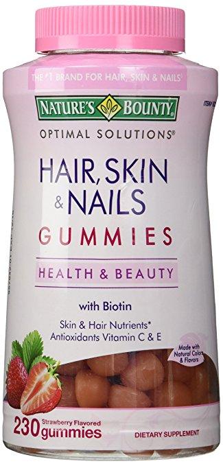 Nature beauty hair skin and nails