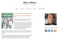 SinerWeb website marcomilani.eu