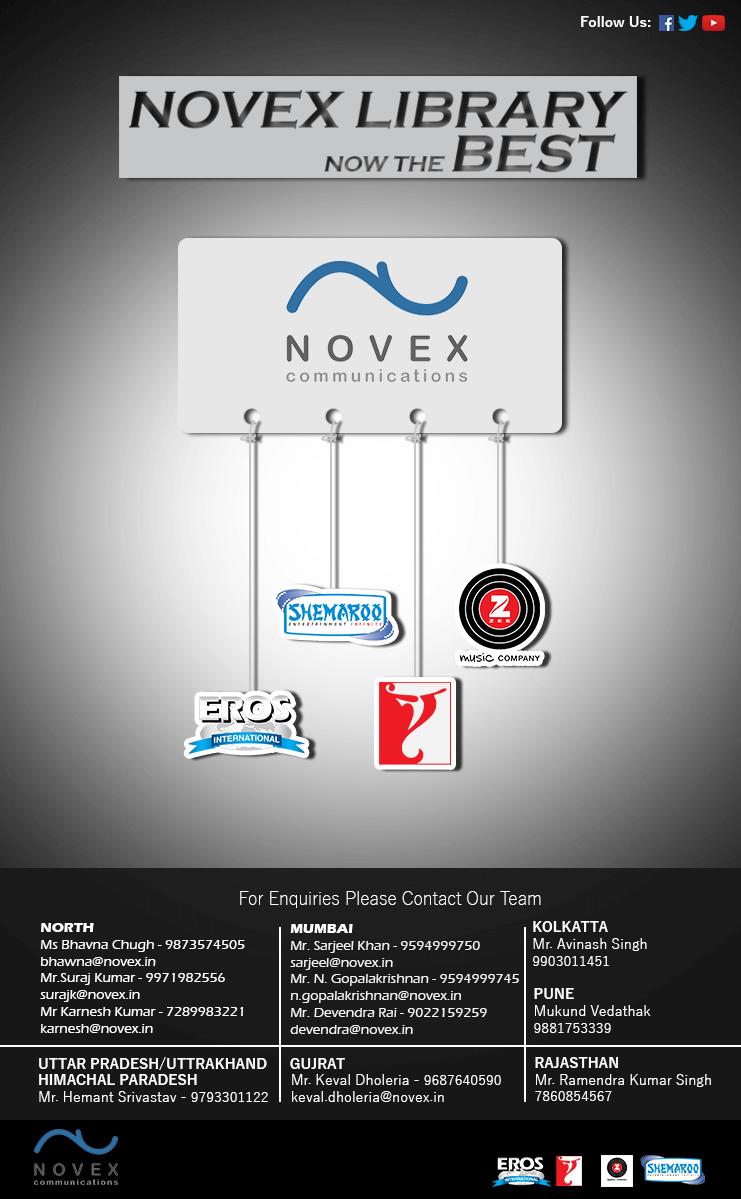 Novex Emailer Design | Hashtasy Digital
