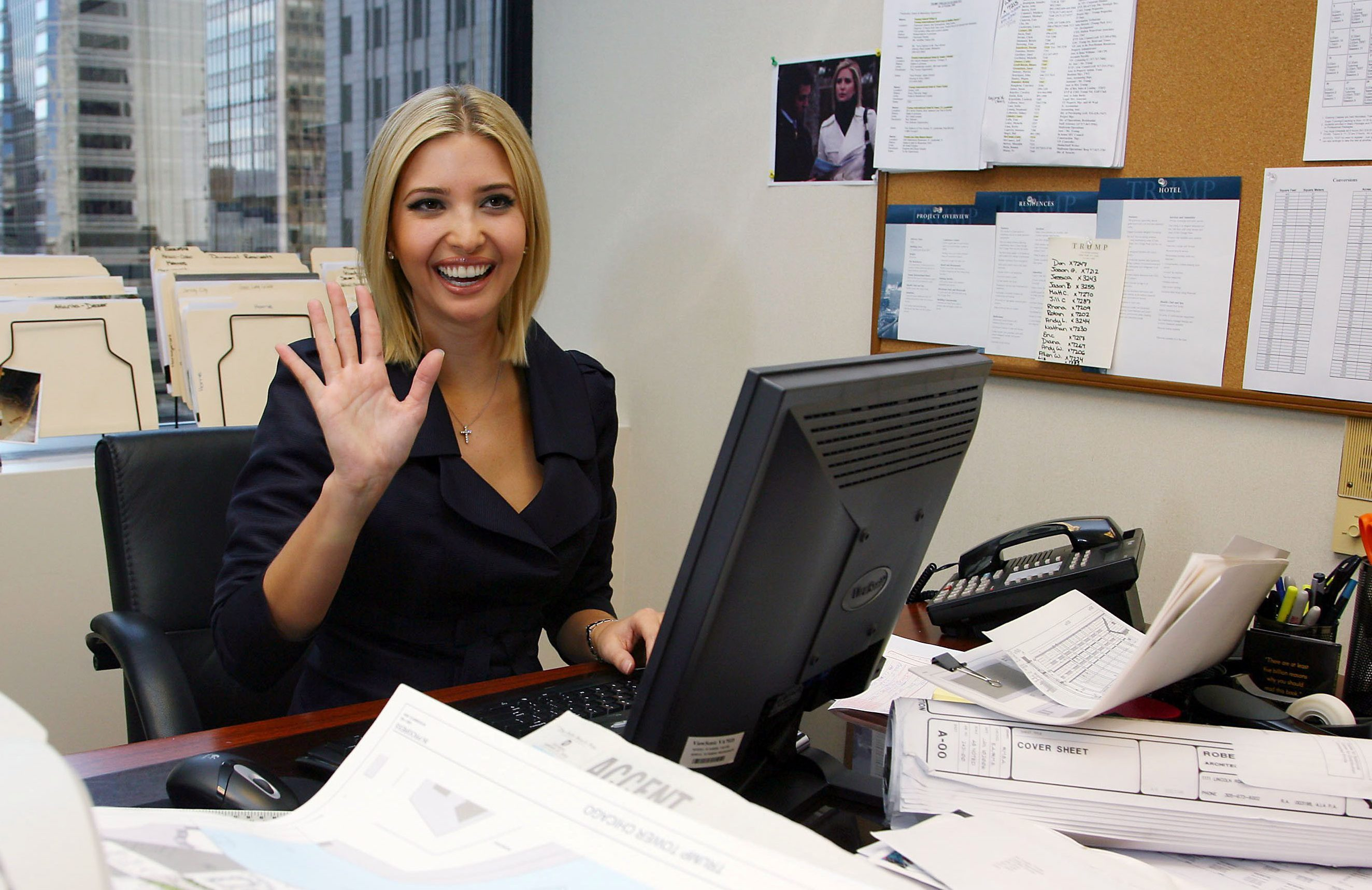 Ivanka attended Georgetown University followed by Wharton Business School