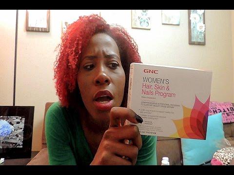 Gnc hair skin and nails program reviews