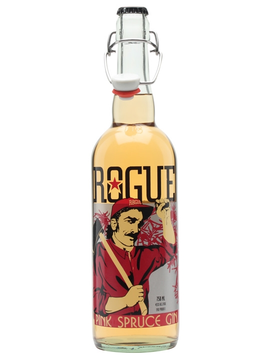 Rogue pink spruce gin review