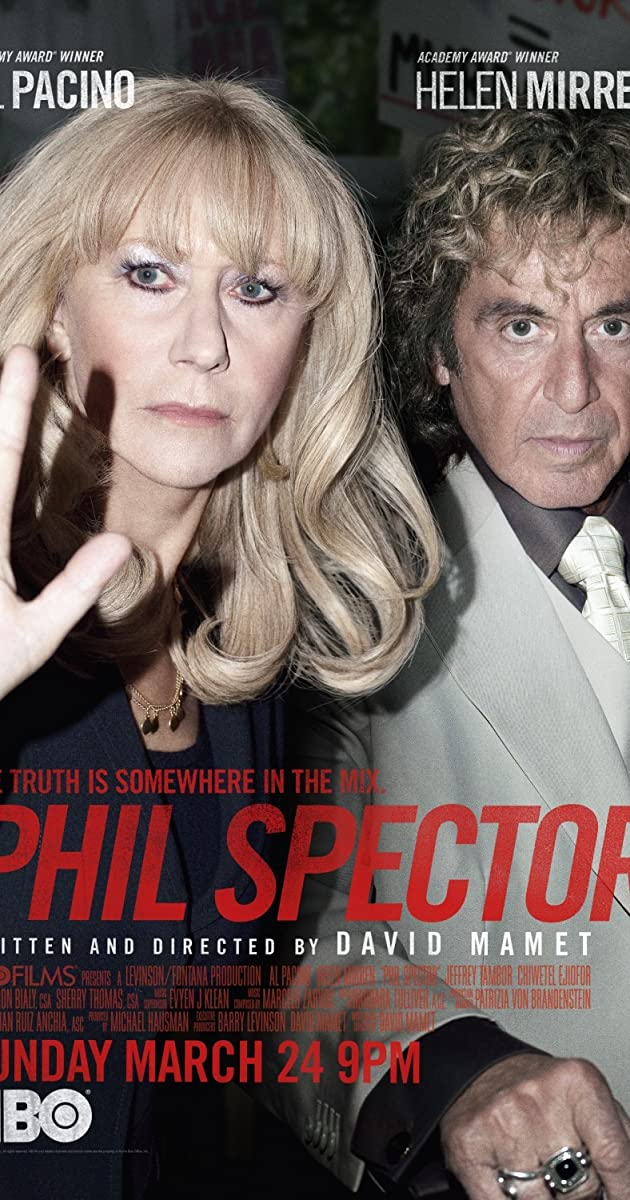 Al pacino hbo movie phil spector