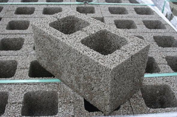 Сколько в 1 м2 блоков керамзитобетонных