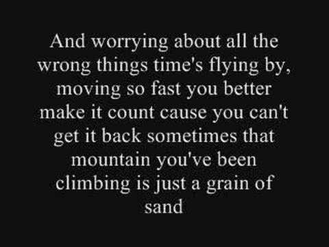 Song lyrics to so small by carrie underwood