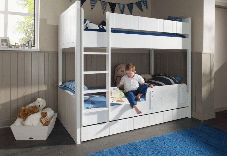 Сборка двухъярусной детской кровати