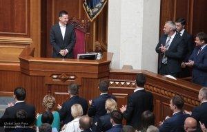Рада приняла законопроект об импичменте президента в первом чтении
