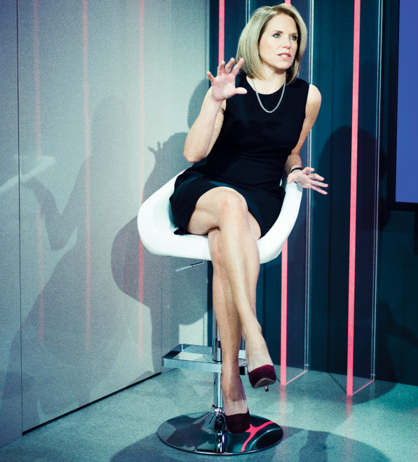 Where is katie couric show taped