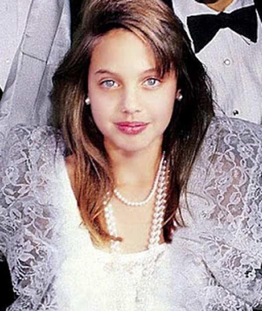 Анджелина Джоли в детстве 2