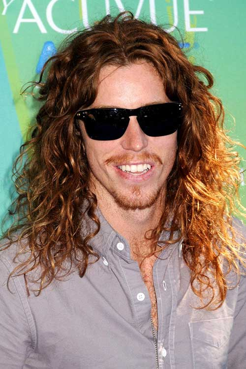 Shaun White Long Curly Hairstyle