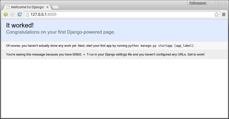 Django programming