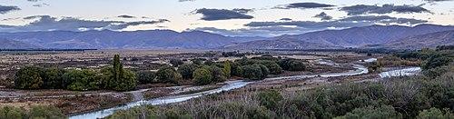 Река Ахурири[en] на Южном острове Новой Зеландии