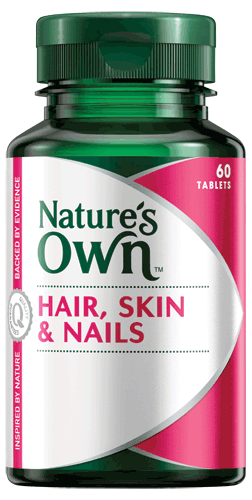 Natures own hair skin and nails