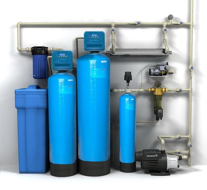 Очистка сточных вод и питьевой воды