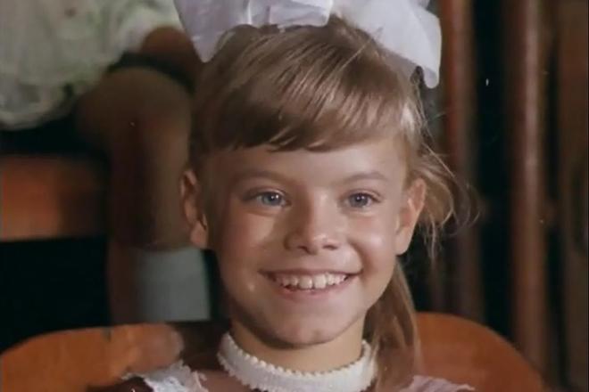 Яна Поплавская в детстве