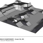 2012 Dew Tour BMX Park Course - Ocean City, MD - McCoy Productions