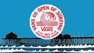2015 VANS US OPEN OF SURFING TO TAKE OVER 'SURF CITY' JULY 25 – AUGUST 2