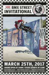 2017 Vans BMX Street Invitational