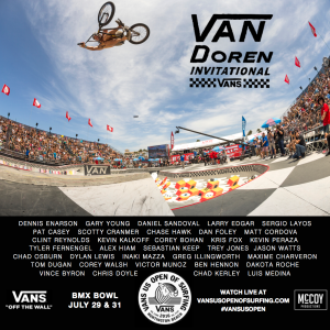 2016 Van Doren Invitational at Vans US Open