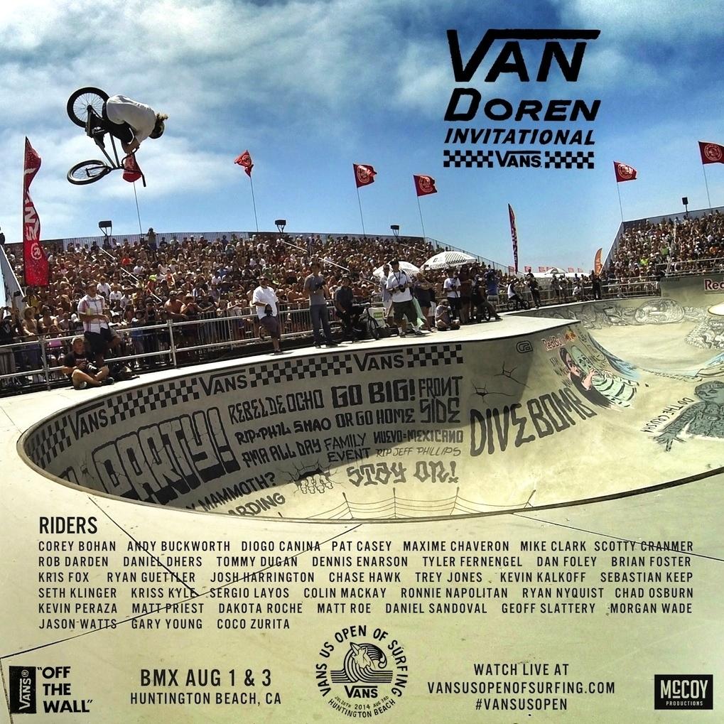 2014 Van Doren Invitational BMX Bowl
