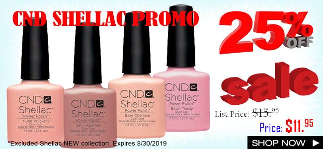 Cnd gel nails products
