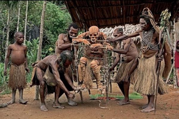 Дикие африканские племена