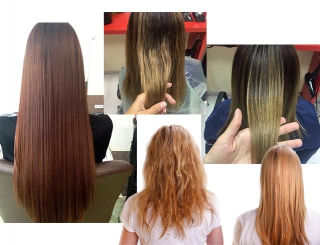 Креативное выпрямление волос отзывы