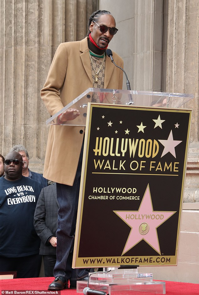That's That:Snoop was recently honored by the Hollywood Chamber of Commerce, with the star running businesses in the world of cannabis, fashion, food and merchandise